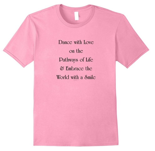Dance with Love, T-Shirt, Black Ltrs