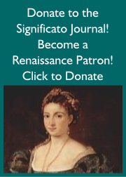 Become a Significato Journal Renaissance Patron